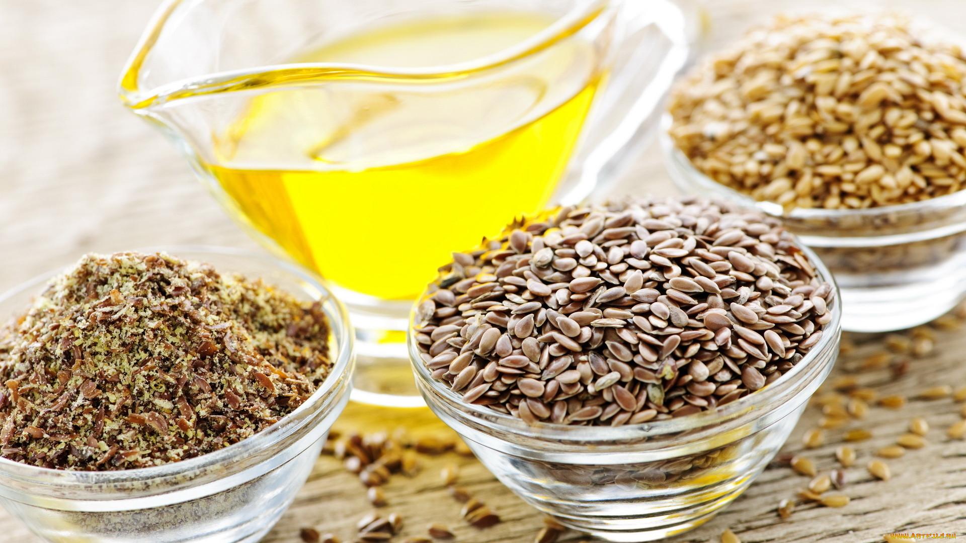 Как сделать смазку из семян льна
